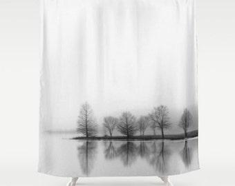 Tree Shower Curtain Etsy