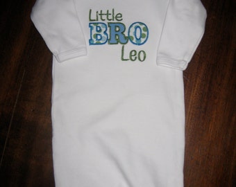 Personalized Little Brother Shirt