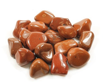 Extra Large Red Jasper Tumblestone, 3.5-5cms