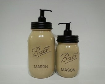Mason Jar Soap Dispenser SET.