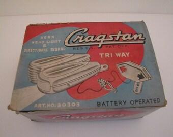 Vintage 1960s Cragstan Triway Bicycle Accessory