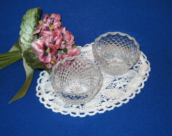 Waterford Crystal Salt Dishes. Set of 2