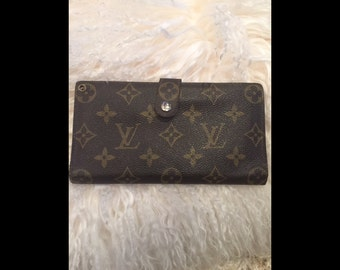 designer wallet with money clip cjai  SALE Vintage Louis Vuitton Wallet