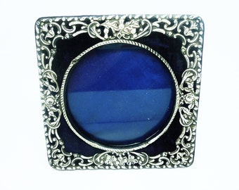 Antique Silver Photograph Frame, Sterling, Photo, English, Hallmarked Chester 1901, REF:234K