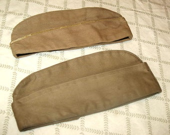 Army Issue WW II Military Caps