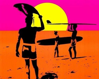 The Endless Summer movie poster 11 x 17