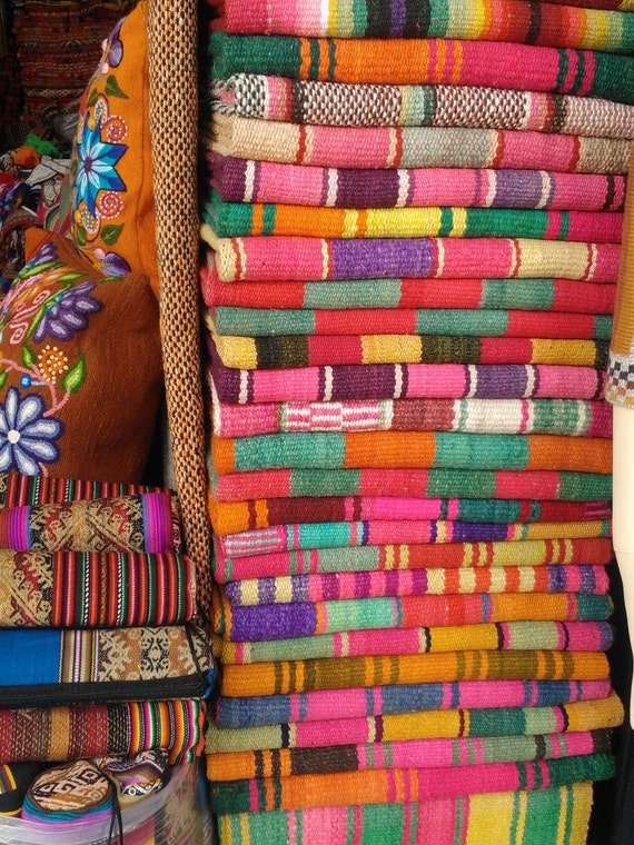 Frazada Runners Rugs Colorful Blankets You Choose