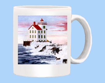Lorain Lighthouse on Lake Erie Mug