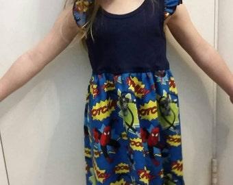 Comic/superhero dresses