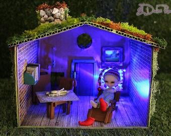 50% discount House of forest miniature Realpuki, goblins, fairies, Fairyland
