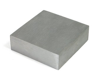 "Steel Bench Block 2.5"" Square - Jewelry Making - 12-316"