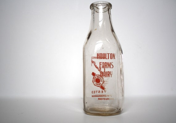 Items Similar To Sale 40 Off Vintage Glass Milk