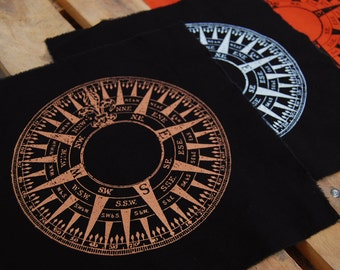 Compass - back patch
