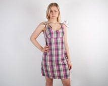 Plaid Summer Dresses - RP Dress