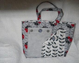 Five Shades of Gray Handbag/Tote