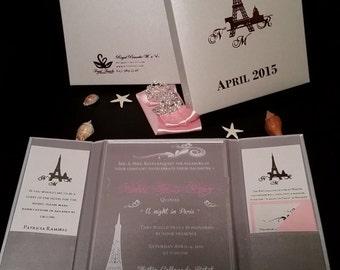Luxury Acrylic Invitation Package