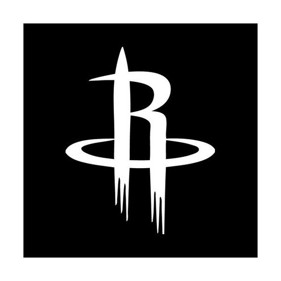 Houston Rockets Logo Window WALL Decal free shipping by ...