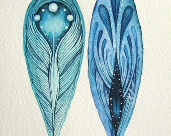 Feathers | Original Painting