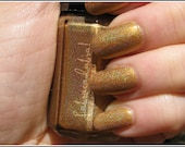 Chrysopoeia - The Magnum Opus Collection - Labracadabra Gold Holographic Nail Polish