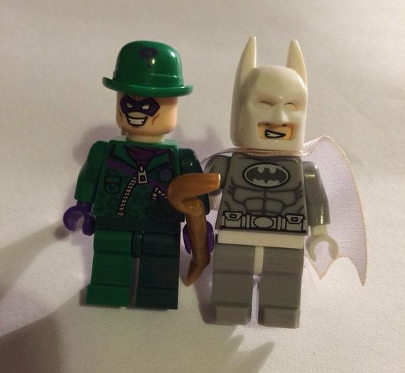 Lego Batman And The Riddler Cufflinks