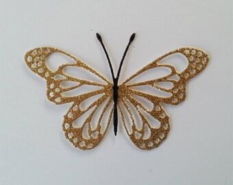 Glittery Die Cut Butterflies
