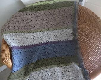 Countrystyle blanket afghan / landelijke deken