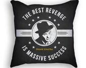 Frank Sinatra Throw Pillow, 18x18, Cushion Home Decor, Gift Idea, Pillow Case