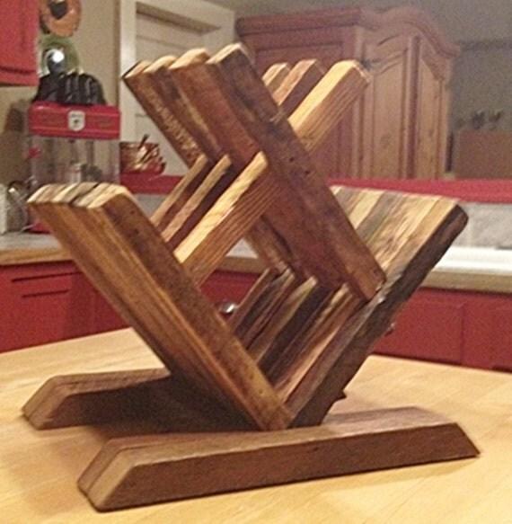 Botellero madera mesa botellero botellero peque o mostrador - Botelleros de madera para vino ...
