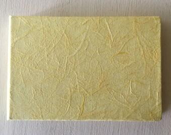 Mini Lemon Handbound Journal