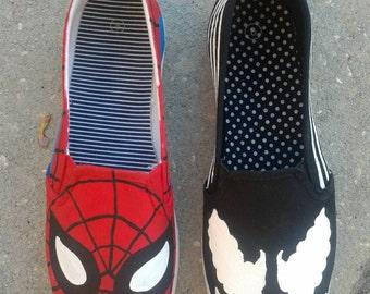 Spider-man, Venom or Carnage Shoes