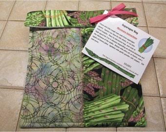 Microwaveable Asparagus Bag