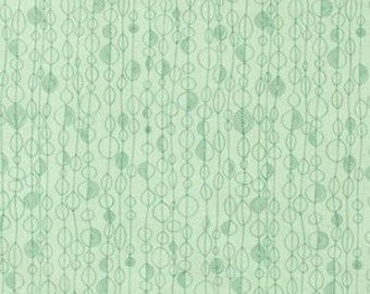 Arvika in Sage and Teal by Alexander Henry 6604C Half Yard