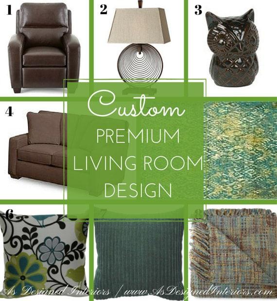 Interior design service affordable custom premium living room for Cheap interior design services