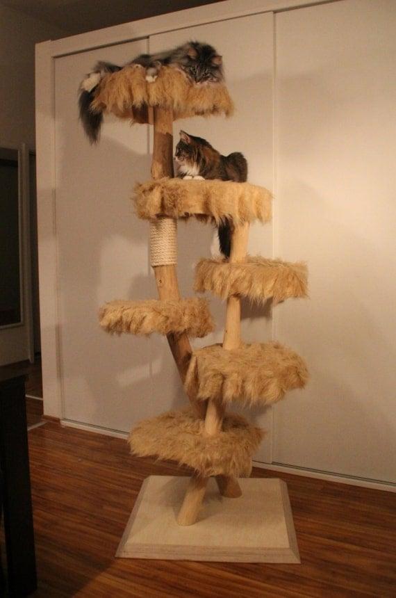 natur kratzbaum katzenbaum aus massivholz und von. Black Bedroom Furniture Sets. Home Design Ideas