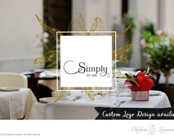 Custom Logo Design Vintage Logo Retro Logo Restaurant Logo Website Logo Blog Logo Business Logo Boutique Branding Photography Logo Design