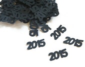 2015 Confetti, Graduation Party Decorations, 100 Pieces