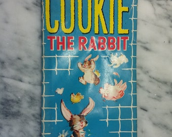 Child's book Cookie the Rabbit by Edith Lowe and Frances Eckart 1949
