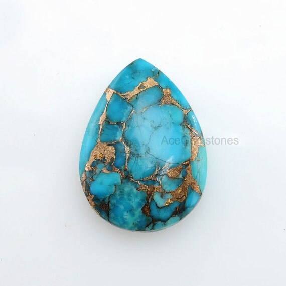 wholesale gemstone copper blue turquoise