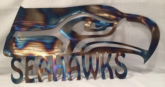 Seattle Seahawks Metal Wall Art By MetalArtDesignz On Etsy