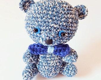Bright amigurumi bear