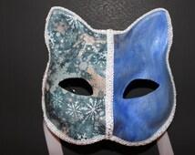 Snow Flake Cat Mask
