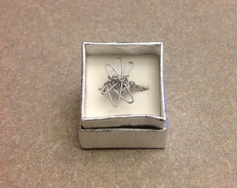New handmade wire wrapped ring size 6.5