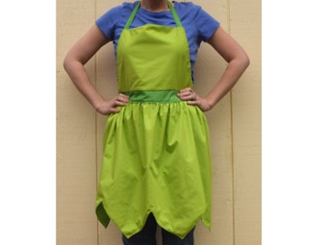 PRICES REDUCED! ~ Tinkerbell Dress Up Adult  Apron ~ Basic or Decorative Fairy Costume Apron for adults ~
