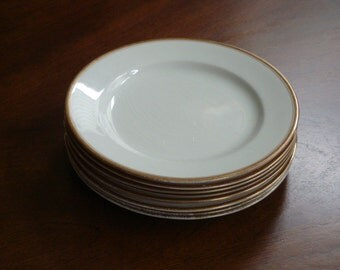 Grindley England Antique Off White Shabby Chic Fine China Plates (9 Available)!