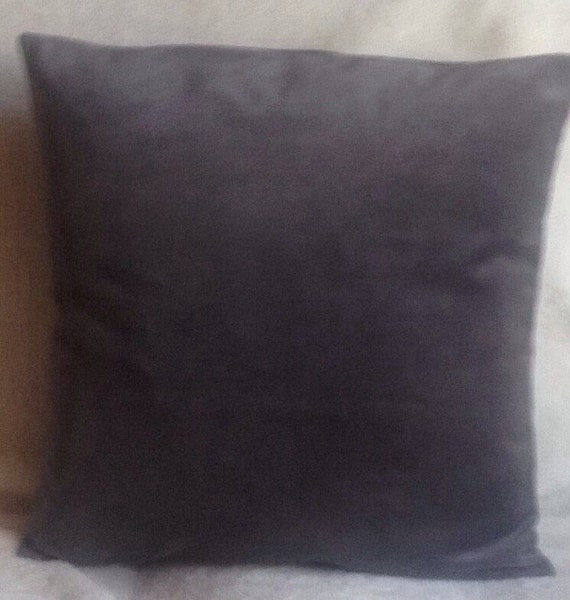 Gray Grey Large Throw Pillow Covers Set of two 20