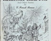 L Frank Baum The RUNAWAY SHADOWS and Other Stories International Wizard of OZ Club Fanzine C. Warren Hollister Bill Eubank