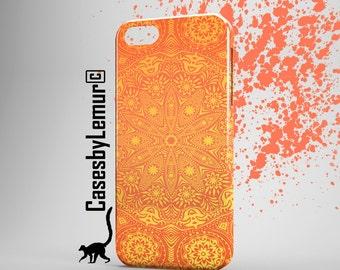 MANDALA ART Iphone 6 Case Mandala Print Iphone 6 Plus Case Indian Print Iphone 5 Case Sun Print Iphone 5C Case Cute Phone Case Designer Case