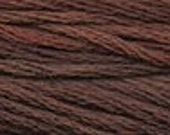 BROWN BEAR 1191 - Gentle Art Sampler Threads | GAST | 6 Strand Embroidery Floss, Hand-Dyed, Over Dyed Cross Stitch Threads | 5 Yard Skein