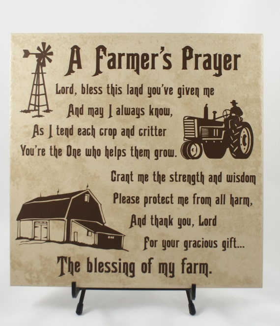 Farmers Day Quotes: FARMER'S PRAYER American Farmer Farming By ThreeDamesDreamin