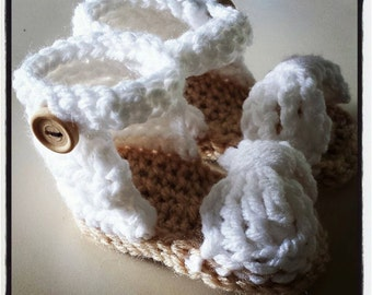 Baby Bow Sandals